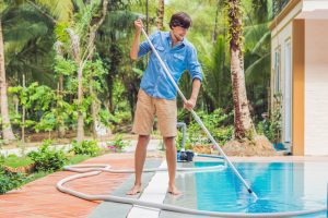 winterising pool and preparing it for summer